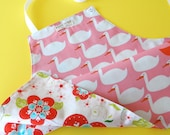 Kids Apron, Children's Apron, Girl's Apron, Full Apron, Reversible Apron for Kids - JUST DUCKY