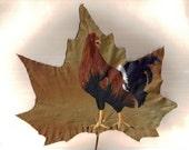 Rooster Leaf , reserved