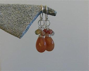 FuN To Wear Orange Blossom earrings