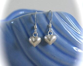 Tiny Treasure Earrings - Heart