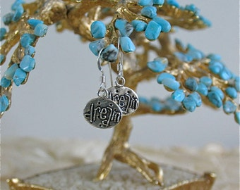 Tiny Treasure Earrings - Dream message
