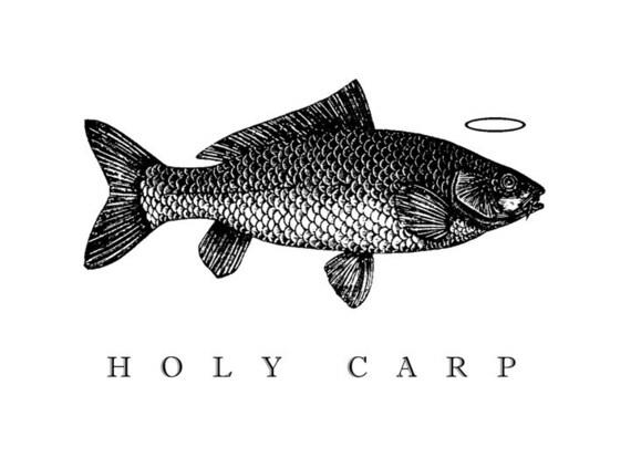 Holy Carp Notecard Set of 6
