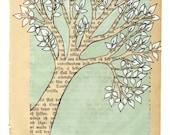 Tree - Archival print from norwegian artist Annette Mangseth