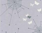 Echino Butterfly Web Grey OOP Fabric - Half Yard