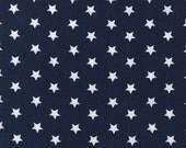 Robert Kaufman Pimatex Basics Stars on Navy Fabric - Reserved for HauteMessThreads