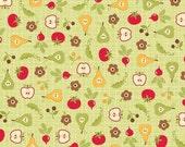 Riley Blake Designs, Farm Fresh, Root Cellar Green Fabric - By the Yard
