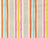 SALE/CLEARANCE Amy Schimler Fly Away, Stripes Sunrise Fabric - By the Yard