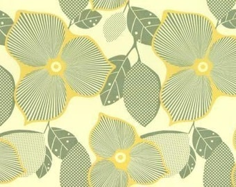 Amy Butler Optic Blossom Linen Fabric - 1 Yard