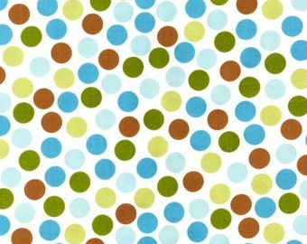 Ann Kelle Remix Dots Bermuda Fabric - REMNANT Size 26 Inches by 44 Inches
