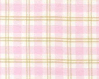 SALE Robert Kaufman Cozy Woven Flannel Rose Fabric - By the Yard