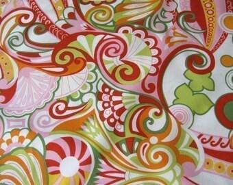 Alexander Henry Bascha Citrus Fabric - Half Yard