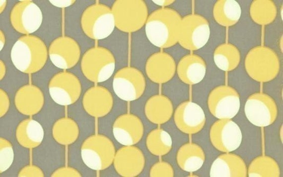 Amy Butler Martini Mustard Fabric - By the Yard