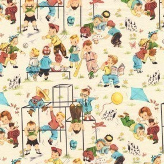 Michael Miller Fun Times Multi Fabric - By the Yard