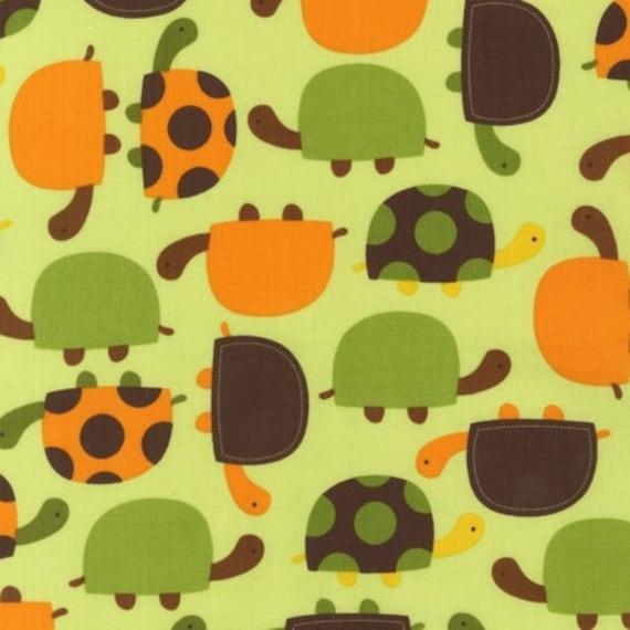 Ann Kelle Urban Zoologie, Turtles Bermuda Fabric - By the Yard