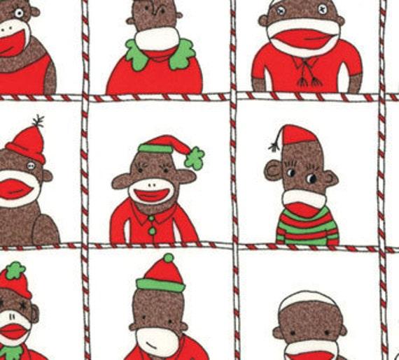Erin Michael, Santa's Little Helpers, Seasonal Employees, Snow Fabric - By the Yard