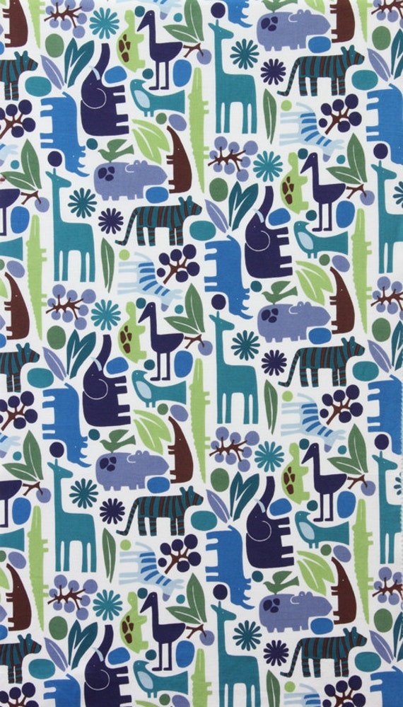 Alexander Henry 2D Zoo Pool Fabric - By the Yard