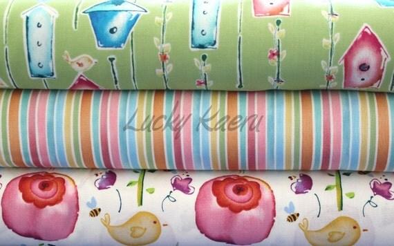 Kathy Davis, Sweet Birdie Half Yard Fabric Set