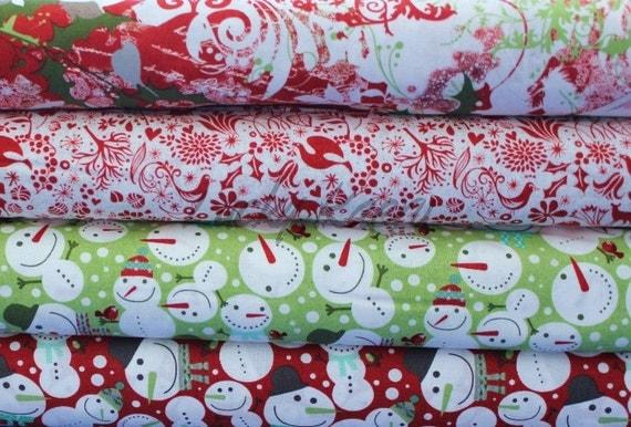 NEW Basicgrey, Blitzen,  Half Yard Fabric Set