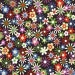 Michael Miller Flowers Aplenty Java Fabric - By the Yard
