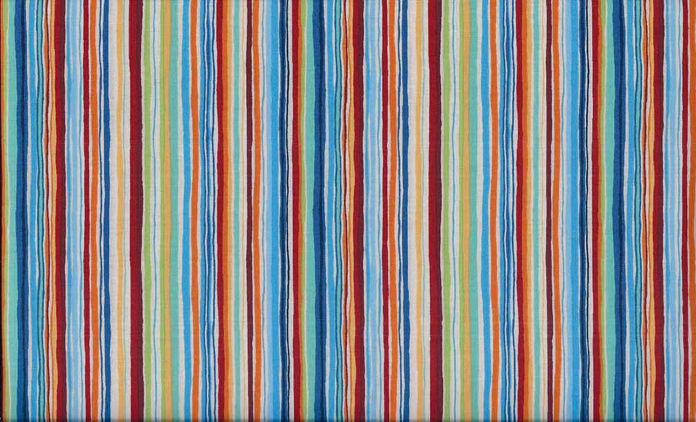 Makower uk space multi stripe fabric 1 yard for Space fabric by the yard