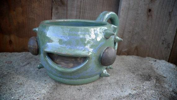 Ceramic, Fugu stoneware mug