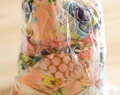 1 lb boutique designer studio fabric scrap bag