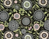 RESERVED for Peggy  Amy Butler Lacework in Olive 1 yard