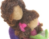 Needlefelted Wool Sculpture : A Life Changing Moment