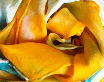 Play Silk : Regatta, Inspired by Monet (35 inch Waldorf Toy)