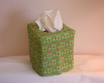 Tissue Box Cover Green