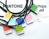 Pantone Necklace: Custom Color