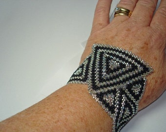 Instructions for Art Deco Cuff