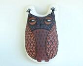 Plush Brown Owl
