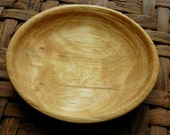Spalted silver birch bowl - greenwood turned