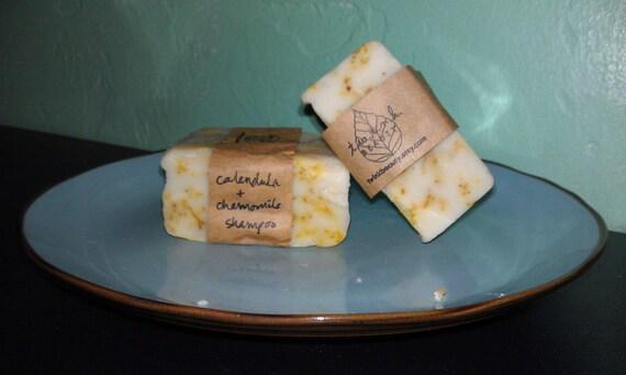 calendula chamomile shampoo bar