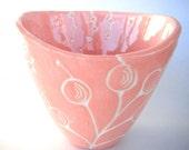 Sweet Pink Soup Bowl