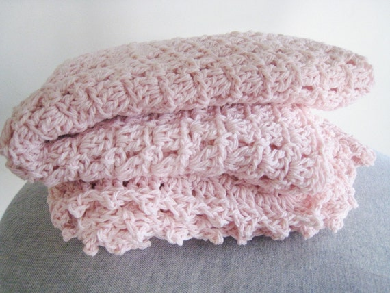 Cotton Candy Baby Blanket PDF Crochet Pattern by ...