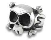 Skull Ring LOUIE in Sterling Silver