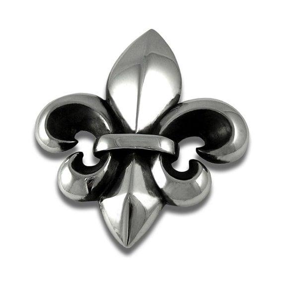 Fleur de Lis Belt Buckle  Sterling Silver Belt buckle