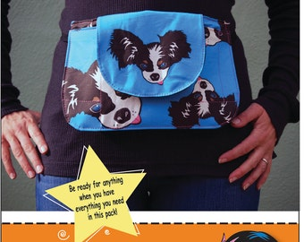 The Crafty Pack Sewing Pattern PDF
