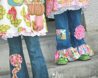 Pink Fig Darling Jeans Pattern - Ellie and Talia Jeans