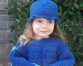 Boutique Crochet Fall Fun Jacket Pattern 2 3 4