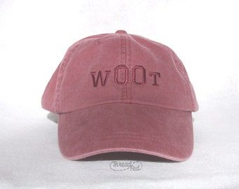 w00t Embroidered Cap