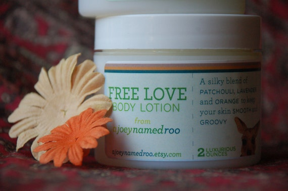 Free Love Whipped Body Lotion 2 oz