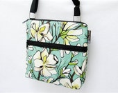 iPad Case Kindle Handbag, Sling Purse, Electronics Pocket - Fast Shipping - BORSETTA - WASHABLE - By Borsa Bella My Magnolia