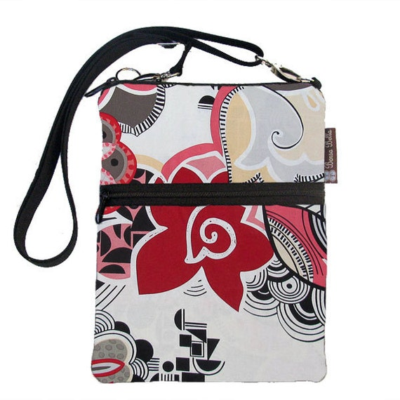Kindle Case / Kindle Fire Cover / Kindle Touch Bag / Nook Bag / Padded eReader Case / TRAVEL BAG  fits WITH Cover - Rosetta  Fabric
