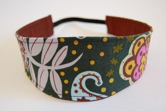 Reversible Comfort Fit Headband - Designer Fabric