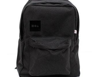 Backpack Bauhaus Block, Nylon Backpack, Rucksack, Laptop Backpack, Black Backpack, College, Geometric Shapes, Men Backpack, Women Backpack