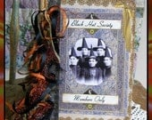 Black Hat Society Altered Art Board Book Project with Crafting Directions - Digital Printable - INSTANT DOWNLOAD
