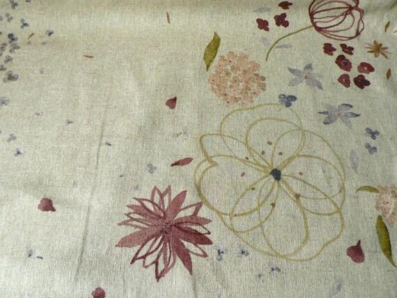 SALE Nani Iro Fuwari fuwari linen 2010 Japanese fabric - natural